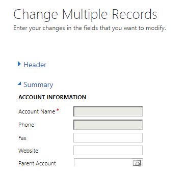 Bulk Updating records in Dynamics CRM where a field is read-only